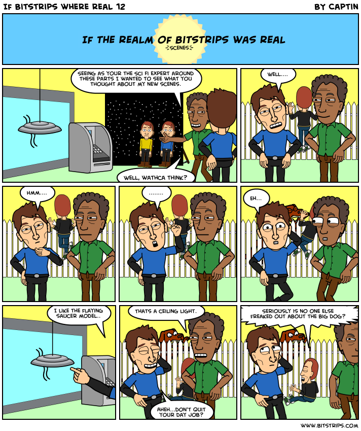 If Bitstrips where real 12