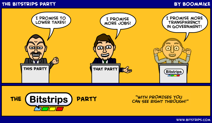 The Bitstrips Party