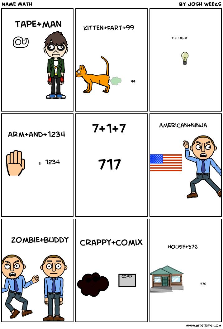 Name Math