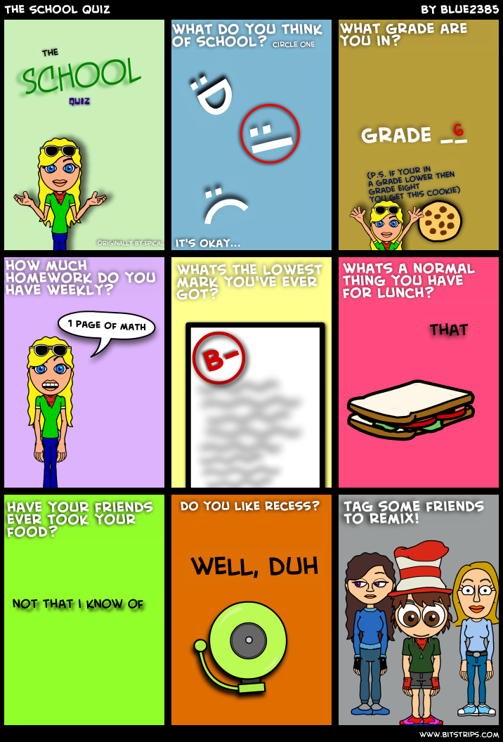 The School Quiz
