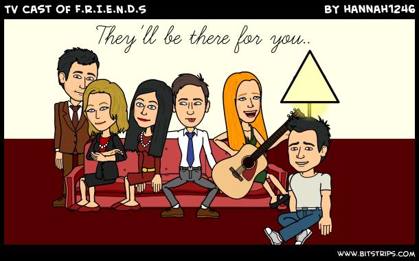 TV cast of F.R.I.E.N.D.S