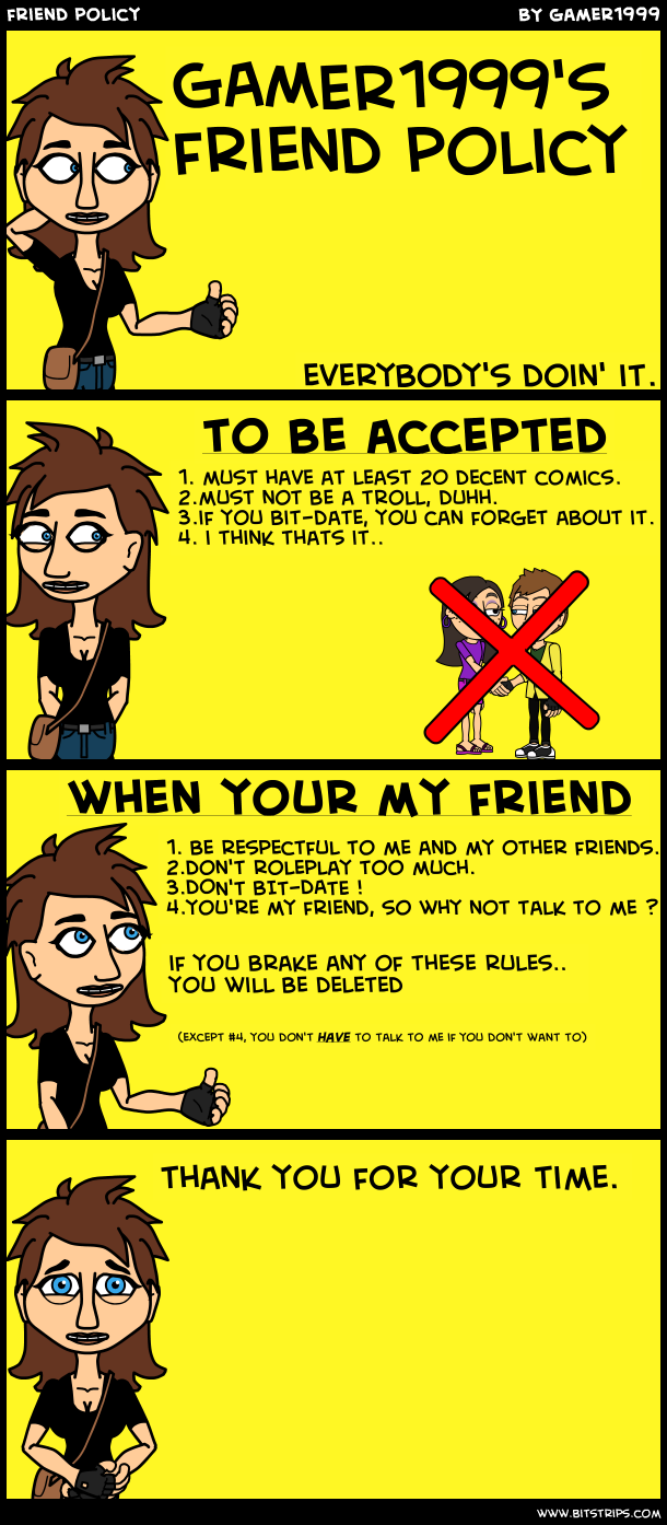 friend policy