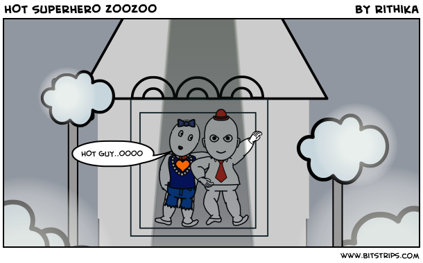 HOT SUPERHERO ZOOZOO