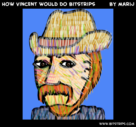 How Vincent would do Bitstrips