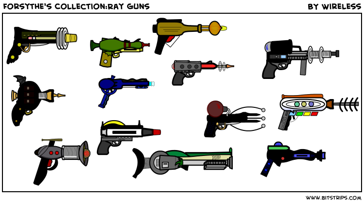 Forsythe's Collection:Ray Guns