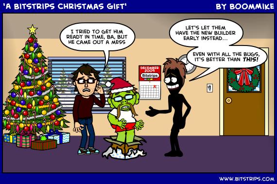 'A Bitstrips Christmas Gift'