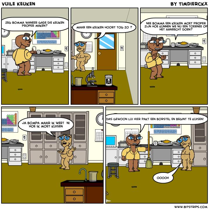Keuken Aanrecht Strip : March of Comics 166