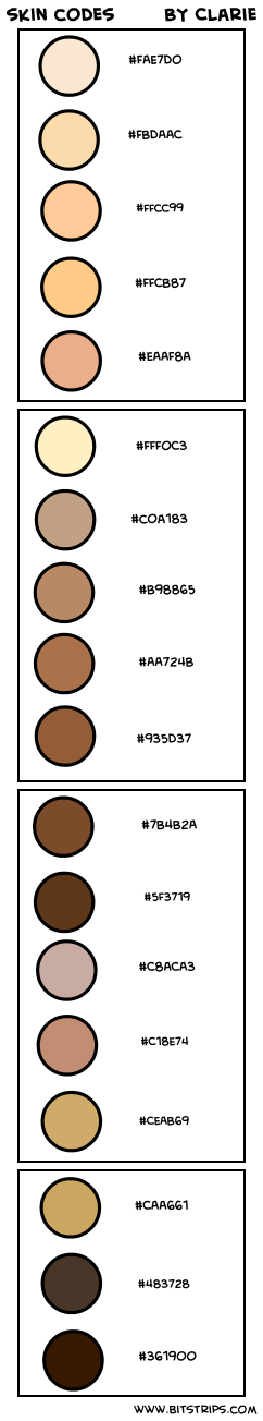skin codes