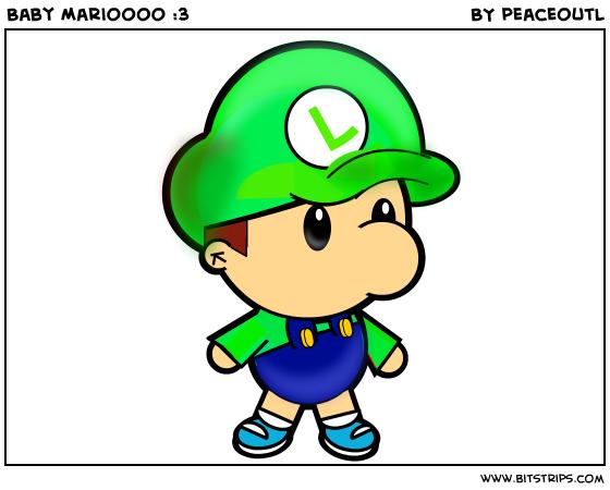 Baby Marioooo :3