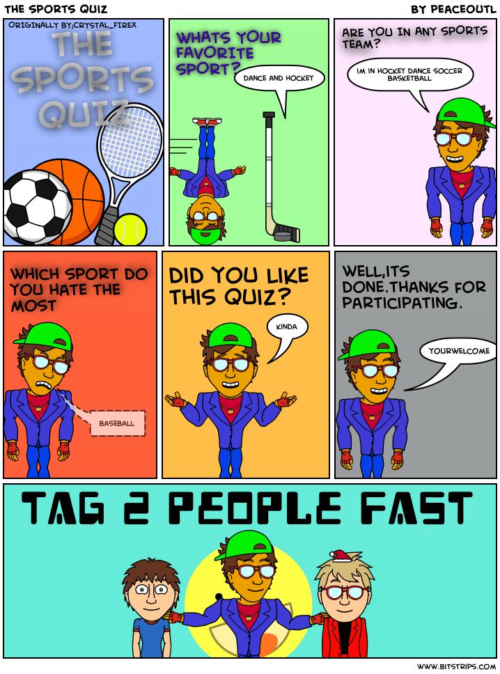 The sports quiz