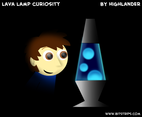 lava lamp curiosity