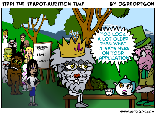 Tippi the Teapot:audition time
