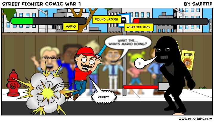 STREET FIGHTER COMIC WAR 1