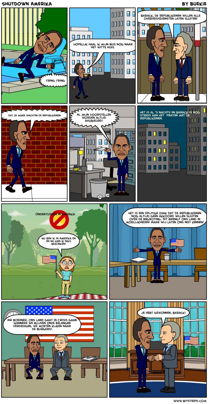 Shutdown Amerika
