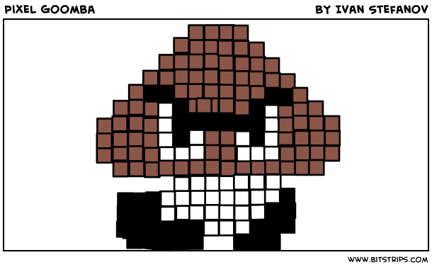 Pixel Goomba
