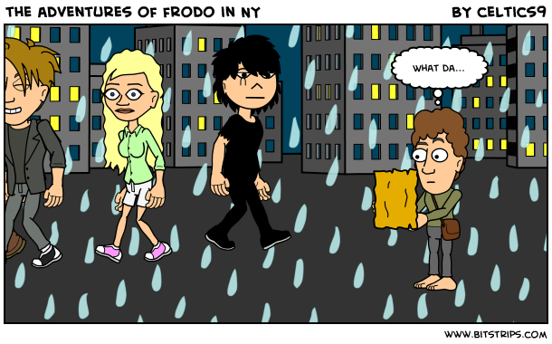 the adventures of frodo in NY
