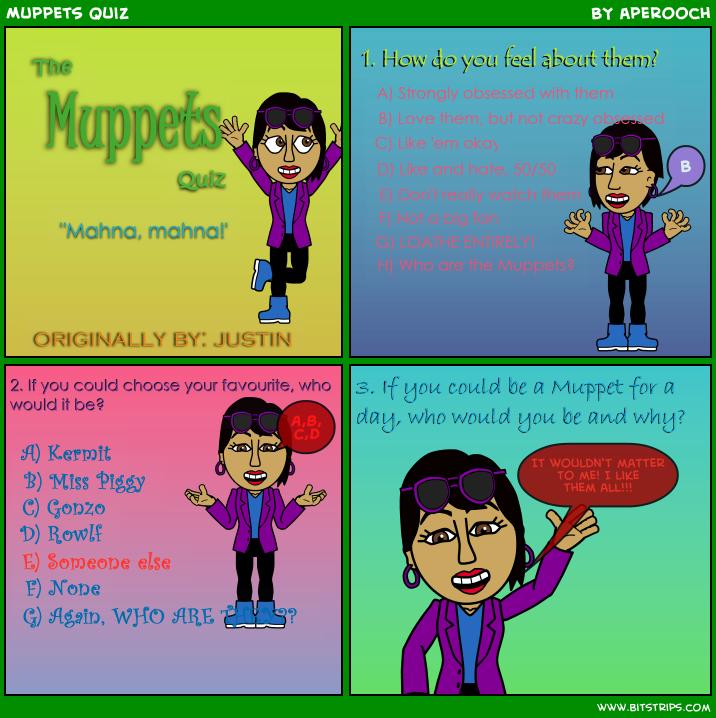Muppets Quiz