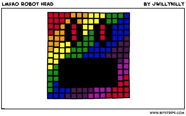lmfao robot head