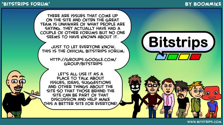 'Bitstrips Forum'