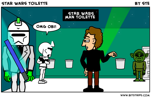 Star Wars toilette