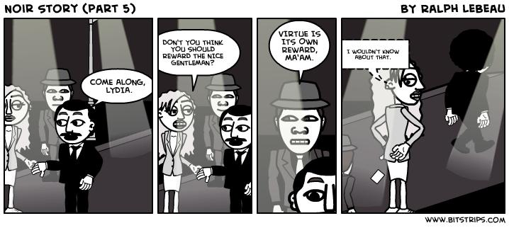 Noir Story (part 5)