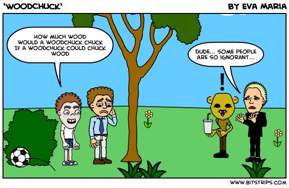 'WoodChuck' - Bitstrips