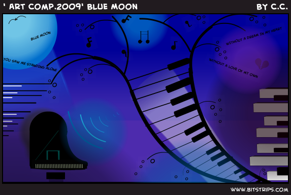 ' Art Comp.2009' Blue Moon