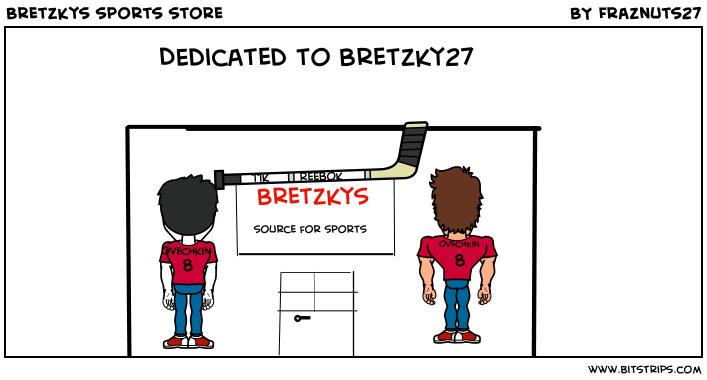Bretzkys sports store
