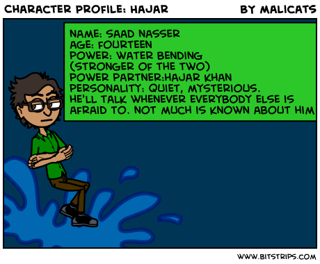 Character Profile: Hajar