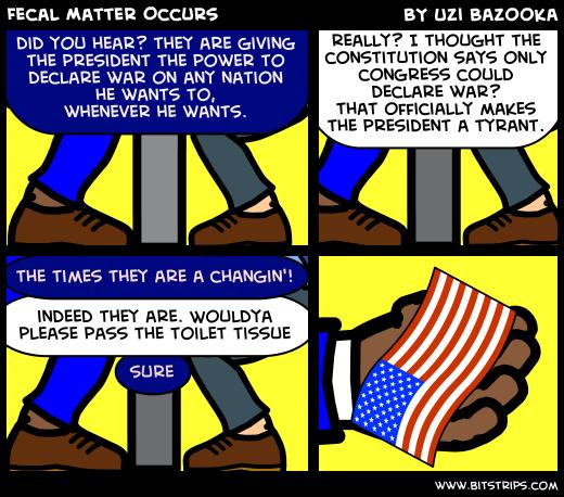 Fecal Matter Occurs