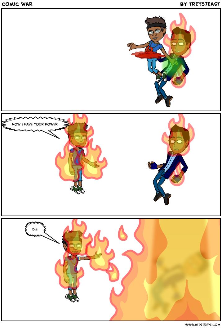 comic war