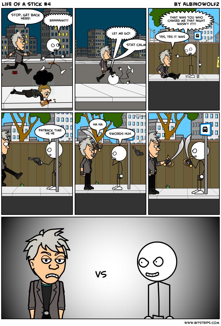 life of a stick #4
