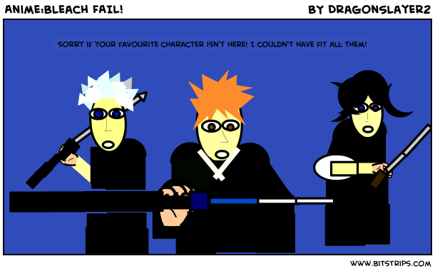 Anime:Bleach FAIL!