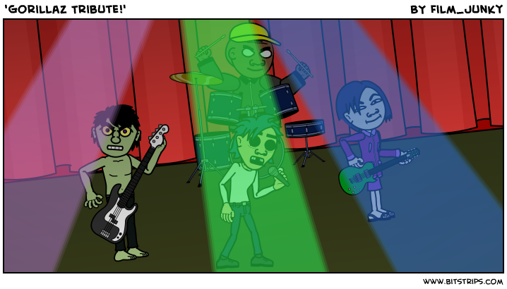 'Gorillaz Tribute!'