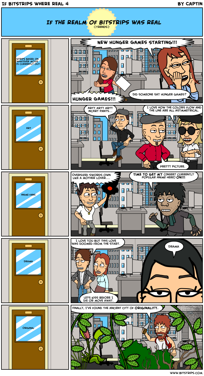 If Bitstrips where real 4
