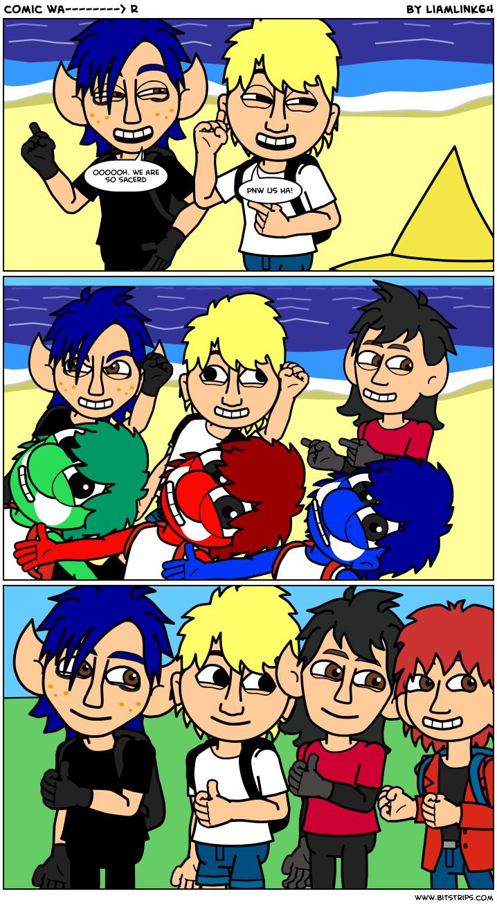 comic wa--------> r
