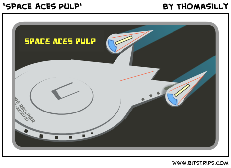 'Space Aces Pulp'