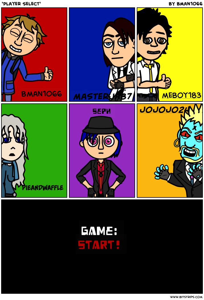 'Player Select'