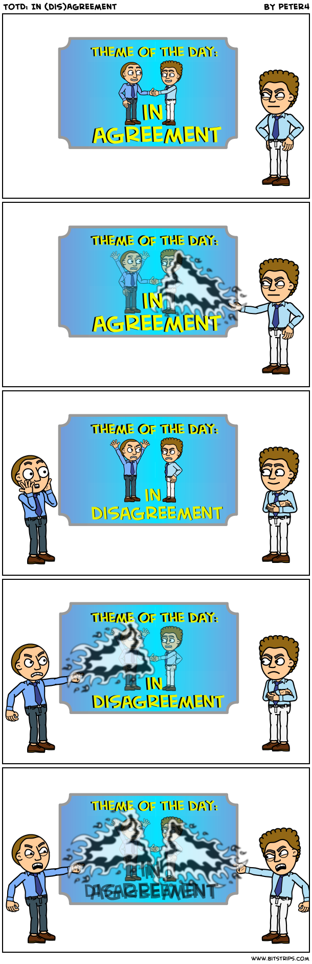 TotD: In (dis)Agreement
