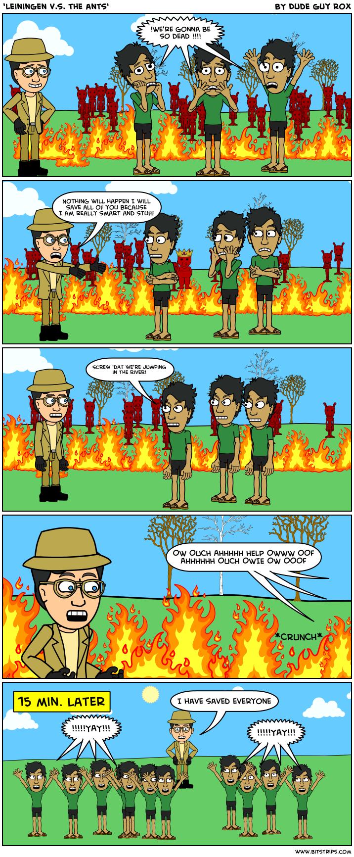 Exam: Leiningen Versus the Ants Flashcards | Quizlet
