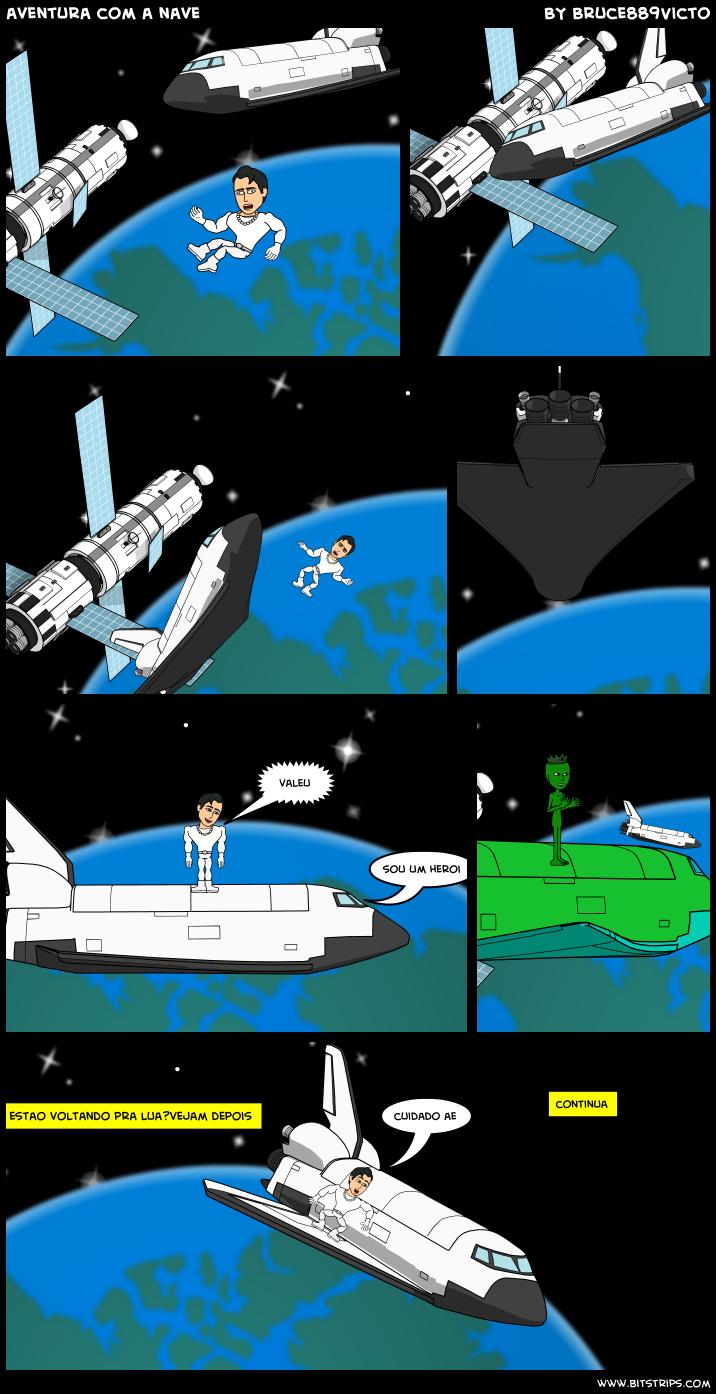 aventura com a nave