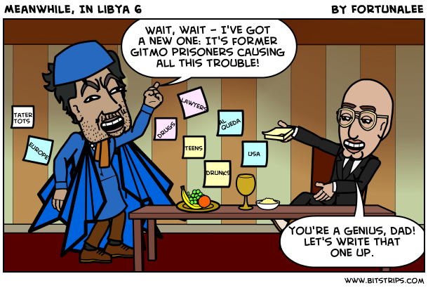 Meanwhile, In Libya 6