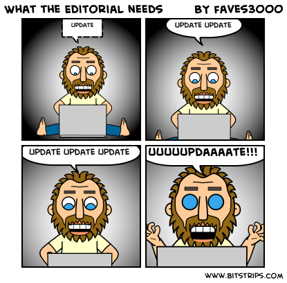 What the Editorial needs