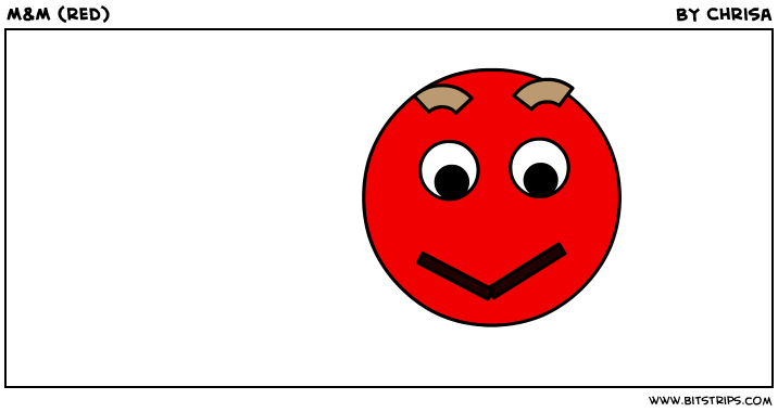 M&M (red)