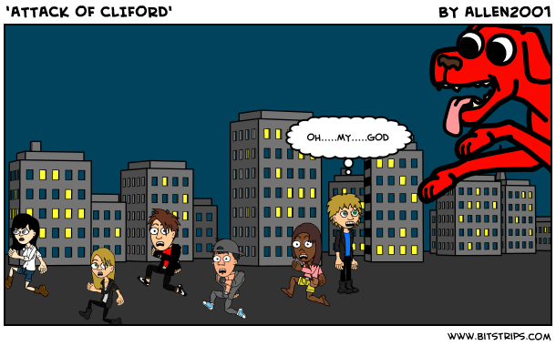 'ATTACK OF CLIFORD'