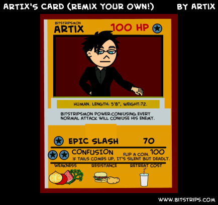 ARTIX'S CARD (Remix your own!)