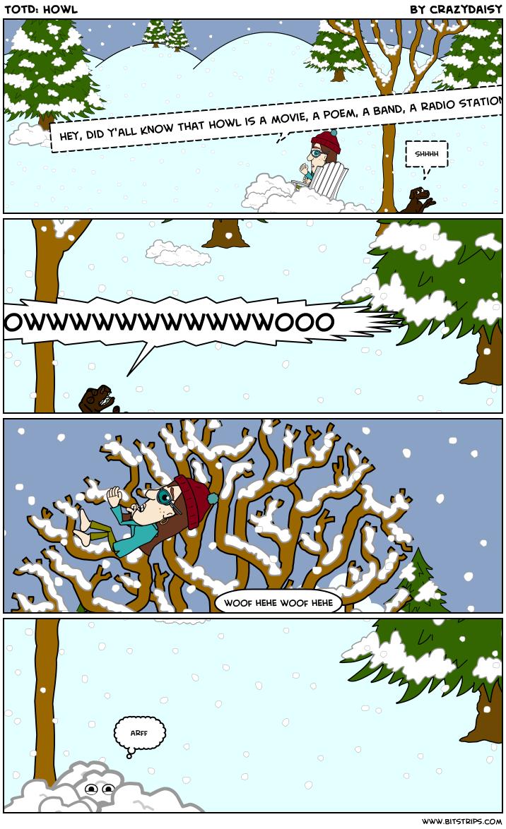 TotD: Howl