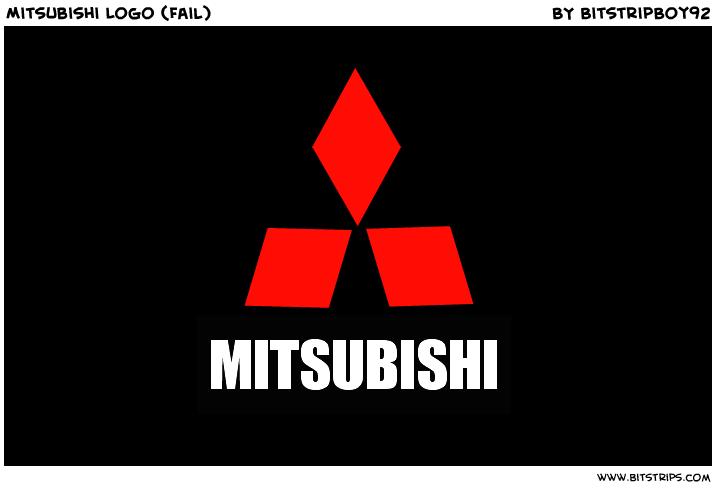 Mitsubishi Logo (Fail) - Bitstrips: bitstrips.com/r/FFXC9
