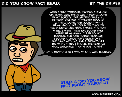 Did You Know Fact Remix