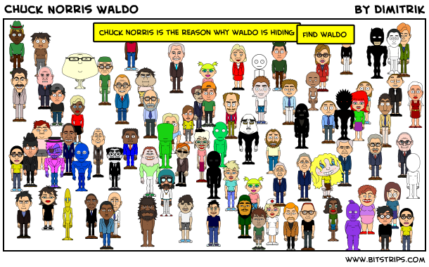 Chuck Norris Waldo